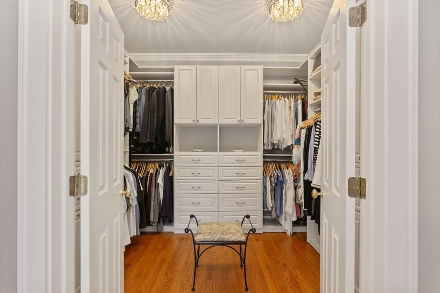 Real Estate Photography - 233 Beachwalk Ln, Michigan City, IN, 46360 - Master Bedroom Closet