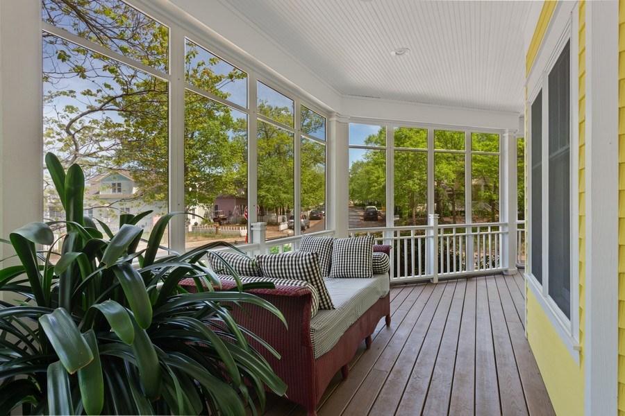 Real Estate Photography - 233 Beachwalk Ln, Michigan City, IN, 46360 - Porch