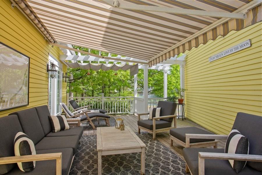 Real Estate Photography - 233 Beachwalk Ln, Michigan City, IN, 46360 - Deck