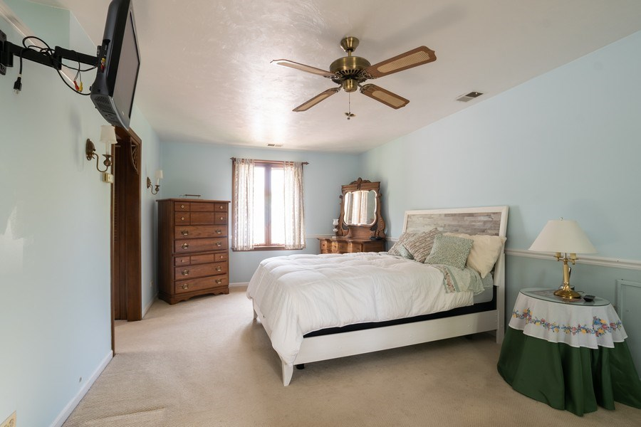Real Estate Photography - 700 Long Rd., Glenview, IL, 60025 - Master Bedroom