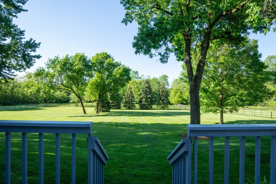Real Estate Photography - 321 Old Sutton Rd, Barrington Hills, IL, 60010 - Back Yard