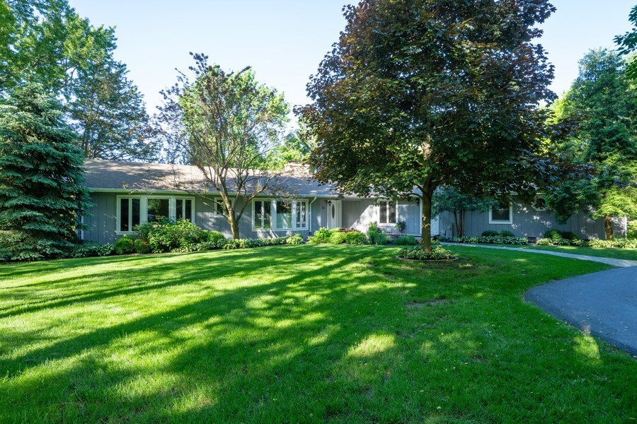 Real Estate Photography - 321 Old Sutton Rd, Barrington Hills, IL, 60010 - Front View