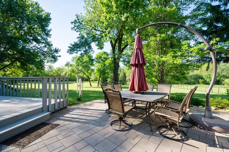 Real Estate Photography - 321 Old Sutton Rd, Barrington Hills, IL, 60010 - Patio