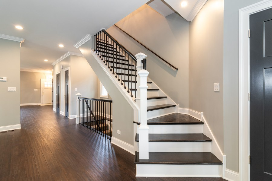 Real Estate Photography - 11216 S Drake, Chicago, IL, 60643 - Staircase