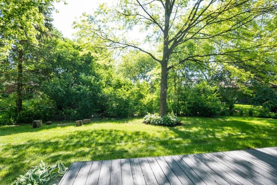 Real Estate Photography - 499 Greenbriar, Glen Ellyn, IL, 60137 - Back Yard