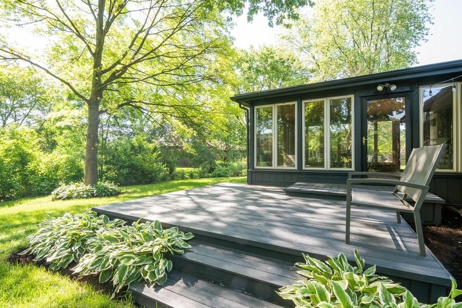 Real Estate Photography - 499 Greenbriar, Glen Ellyn, IL, 60137 - Rear View
