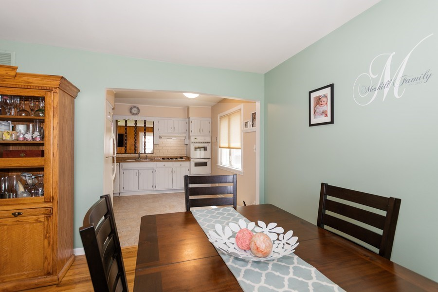 Real Estate Photography - 6315 84th Pl, Burbank, IL, 60459 - Dining Room