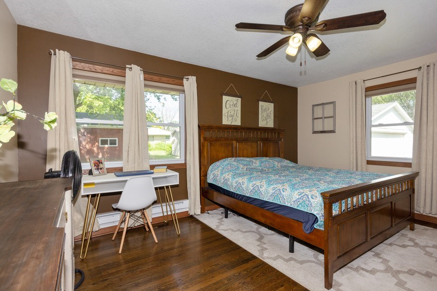 Real Estate Photography - 502 N 3rd Street, Cissna Park, IL, 60924 - Master Bedroom