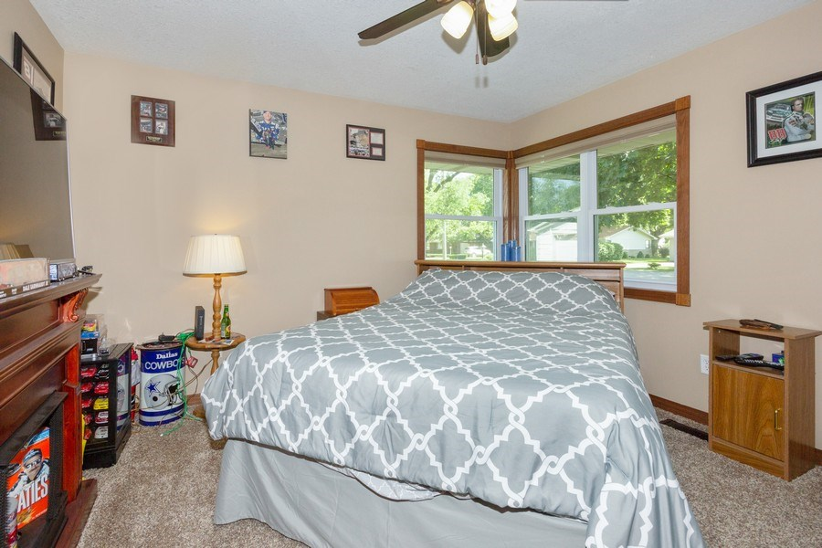 Real Estate Photography - 502 N 3rd Street, Cissna Park, IL, 60924 - 2nd Bedroom