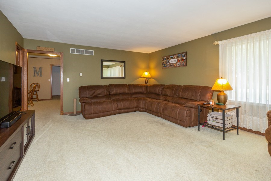 Real Estate Photography - 502 N 3rd Street, Cissna Park, IL, 60924 - Living Room