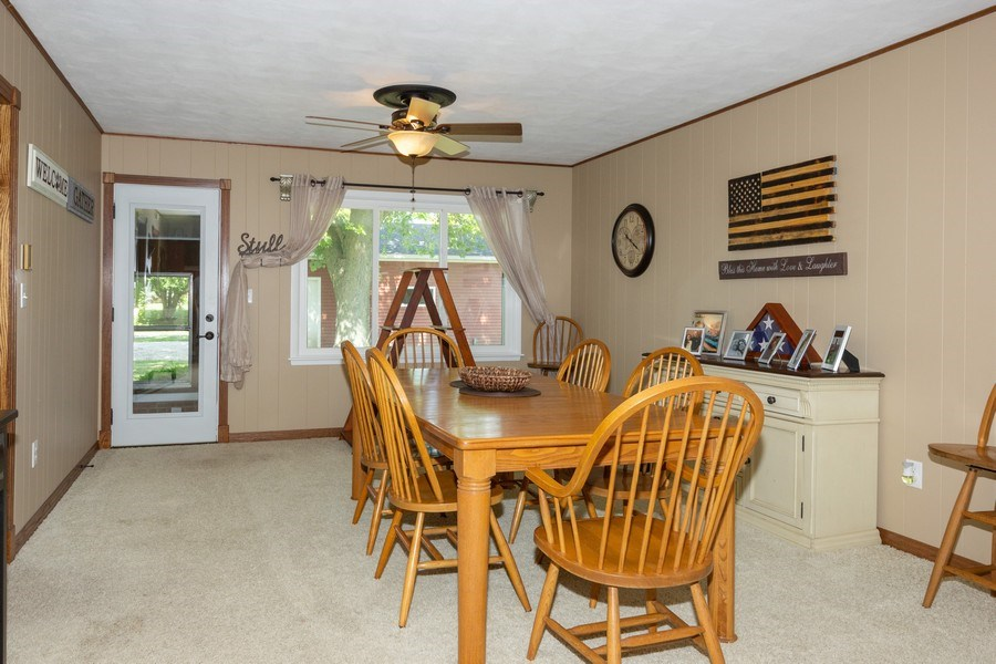 Real Estate Photography - 502 N 3rd Street, Cissna Park, IL, 60924 - Dining Room