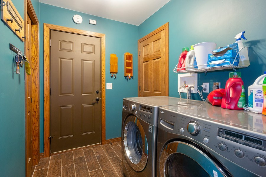 Real Estate Photography - 502 N 3rd Street, Cissna Park, IL, 60924 - Laundry Room