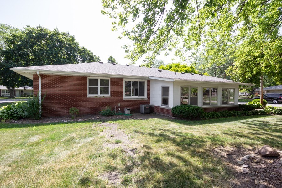 Real Estate Photography - 502 N 3rd Street, Cissna Park, IL, 60924 - Rear View