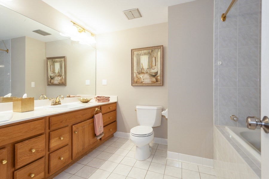 Real Estate Photography - 13165 Burlawn Ct, Brookfield, WY, 53005 - Master Bathroom