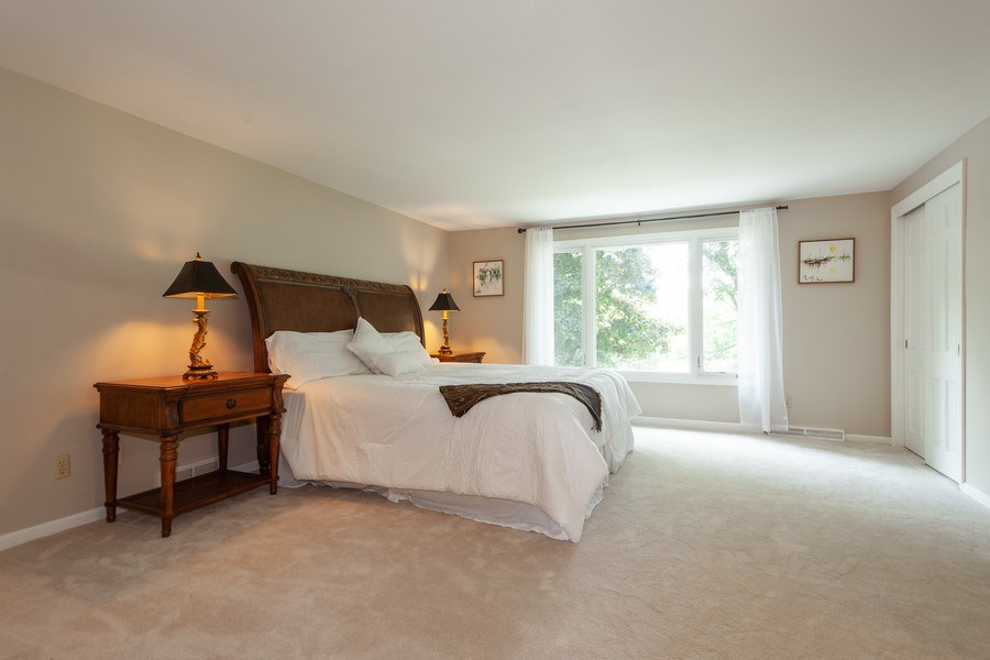 Real Estate Photography - 13165 Burlawn Ct, Brookfield, WY, 53005 - Master Bedroom