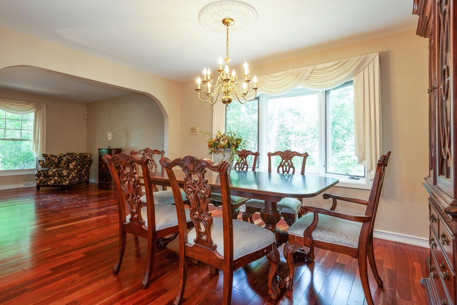 Real Estate Photography - 13165 Burlawn Ct, Brookfield, WY, 53005 - Dining Room