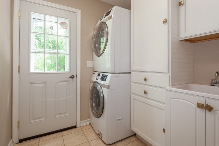 Real Estate Photography - 13165 Burlawn Ct, Brookfield, WY, 53005 - Laundry Room