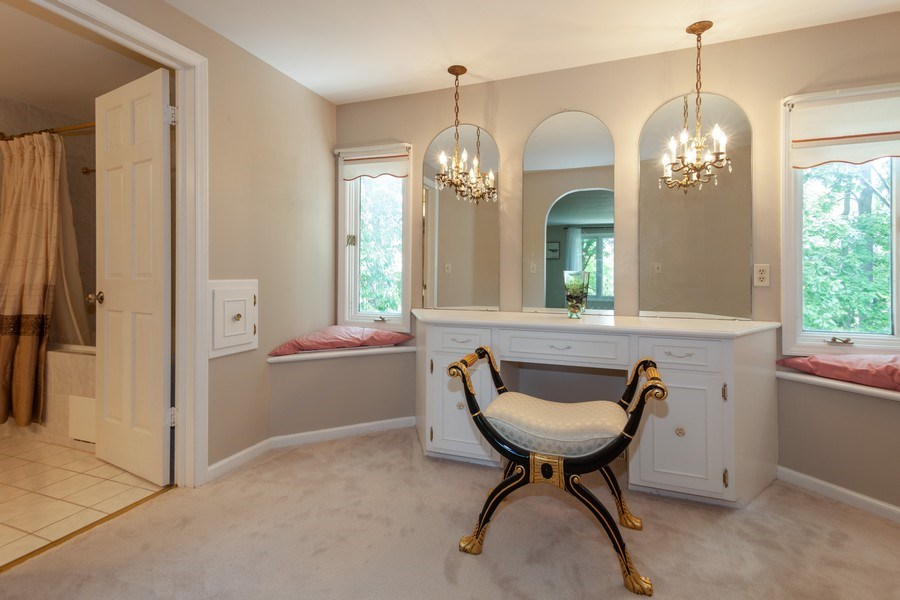 Real Estate Photography - 13165 Burlawn Ct, Brookfield, WY, 53005 - Dressing Area