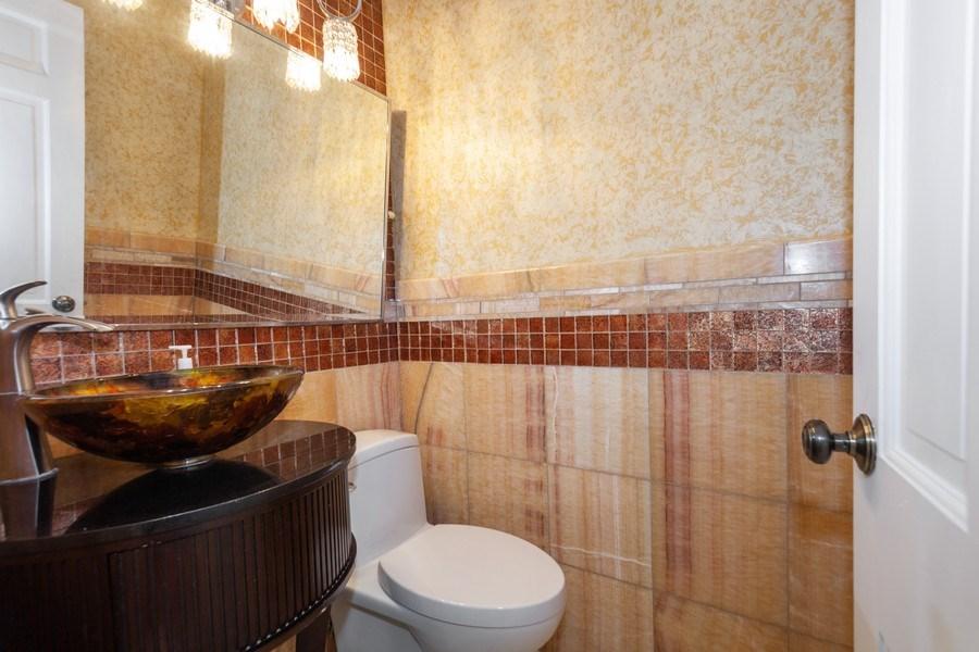 Real Estate Photography - 13165 Burlawn Ct, Brookfield, WY, 53005 - Half Bath