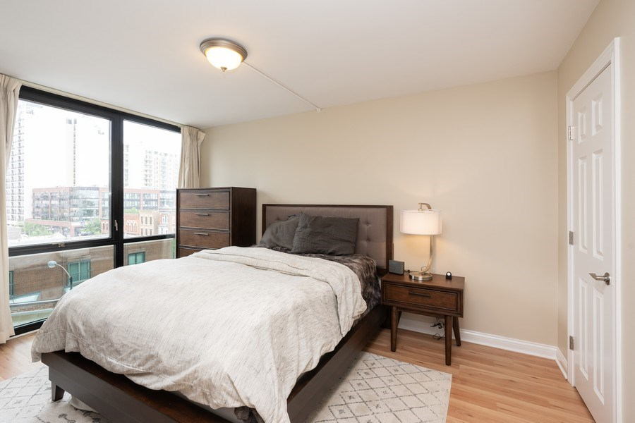 Real Estate Photography - 1309 N Wells, #506, Chicago, IL, 60610 - Master Bedroom