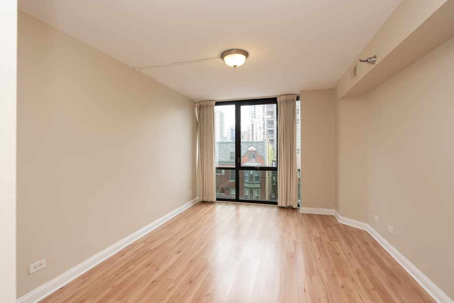Real Estate Photography - 1309 N Wells, #506, Chicago, IL, 60610 - 2nd Bedroom