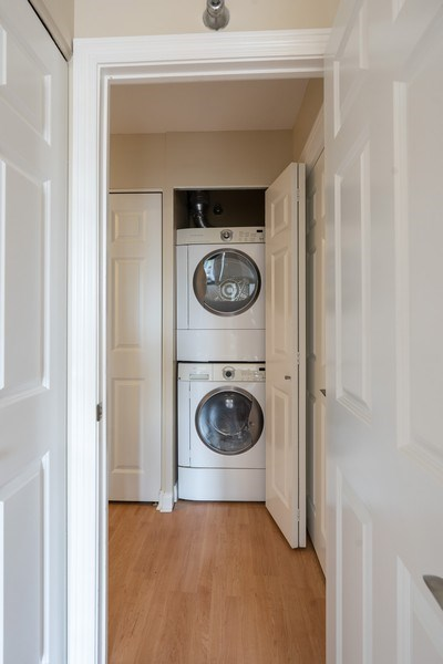 Real Estate Photography - 1309 N Wells, #506, Chicago, IL, 60610 - Laundry Room