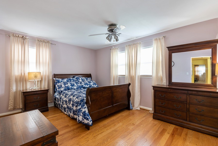 Real Estate Photography - 2515 Wilmette Ave, Wilmette, IL, 60091 - Bedroom
