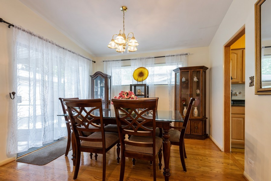 Real Estate Photography - 2515 Wilmette Ave, Wilmette, IL, 60091 - Dining Room