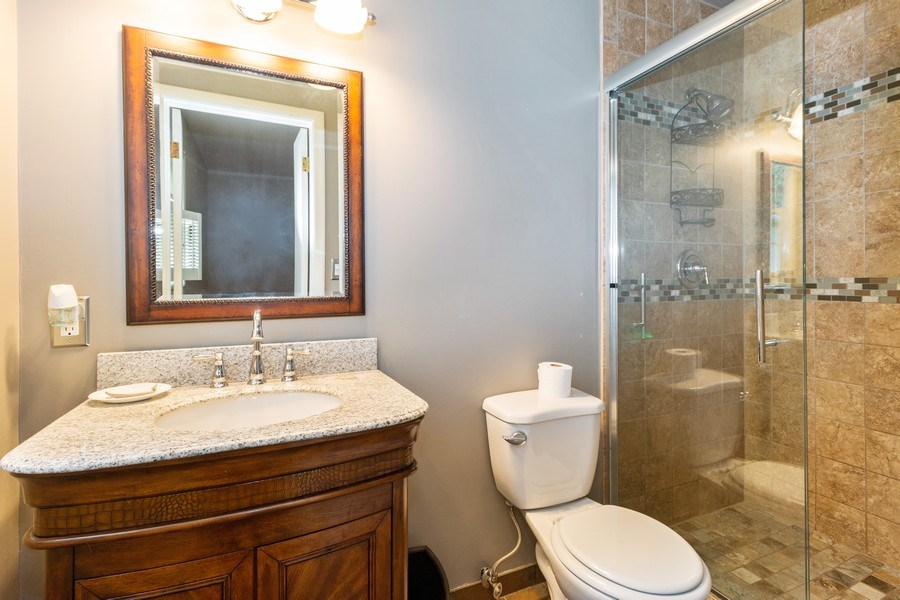 Real Estate Photography - 1000 Whipperwill Ct, Shorewood, IL, 60404 - Master Bathroom