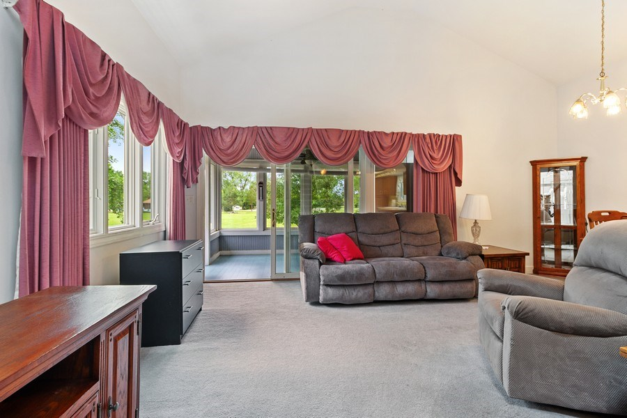 Real Estate Photography - 2 Dinosaur Rd, Wilmington, IL, 60481 - Living Room