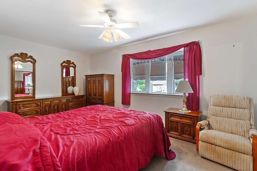 Real Estate Photography - 2 Dinosaur Rd, Wilmington, IL, 60481 - Master Bedroom
