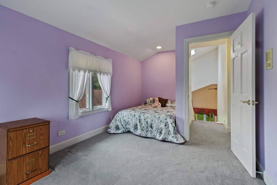 Real Estate Photography - 2 Dinosaur Rd, Wilmington, IL, 60481 - Bedroom