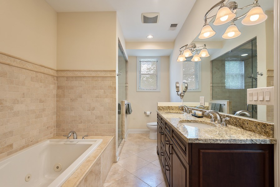 Real Estate Photography - 2632 Broadway, Evanston, IL, 60201 - Master Bathroom