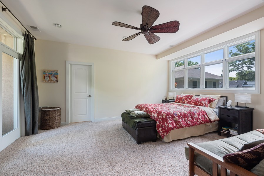 Real Estate Photography - 2632 Broadway, Evanston, IL, 60201 - Master Bedroom