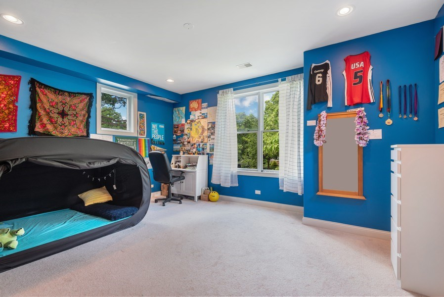 Real Estate Photography - 2632 Broadway, Evanston, IL, 60201 - 2nd Bedroom