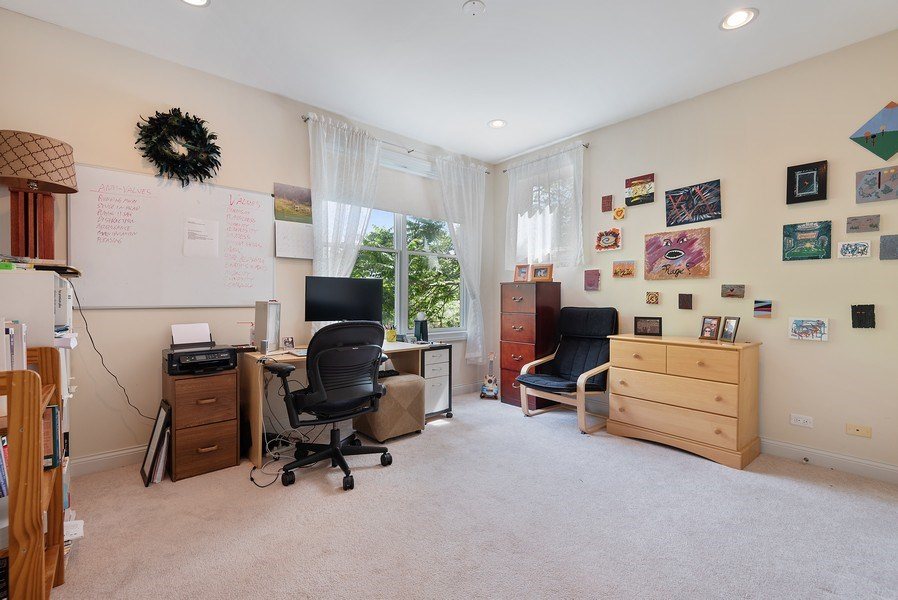 Real Estate Photography - 2632 Broadway, Evanston, IL, 60201 - 3rd Bedroom