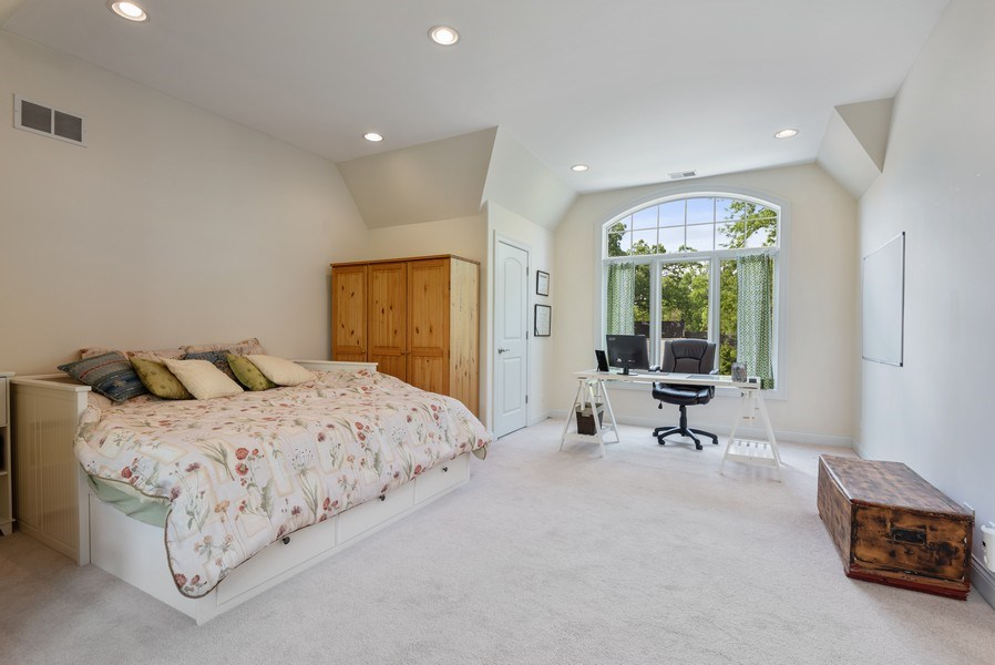 Real Estate Photography - 2632 Broadway, Evanston, IL, 60201 - Bedroom