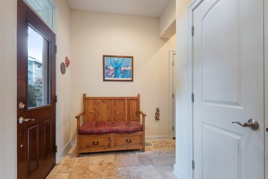 Real Estate Photography - 2632 Broadway, Evanston, IL, 60201 - Mudroom