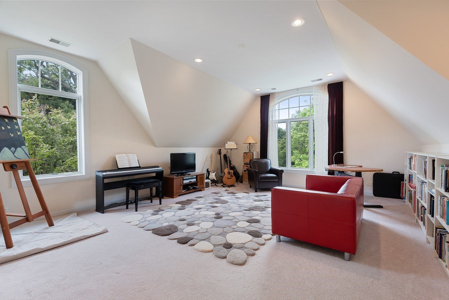 Real Estate Photography - 2632 Broadway, Evanston, IL, 60201 - Family Room