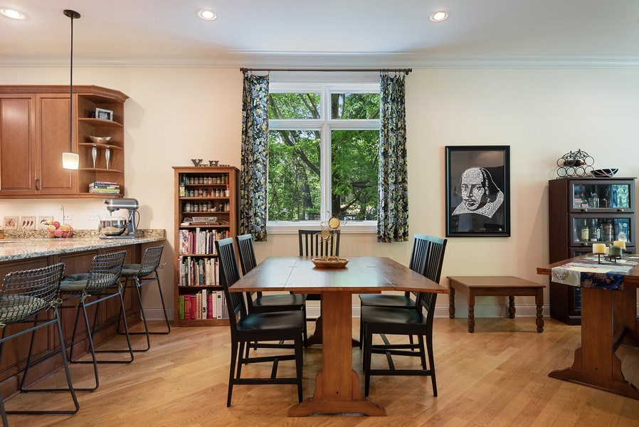 Real Estate Photography - 2632 Broadway, Evanston, IL, 60201 - Dining Area
