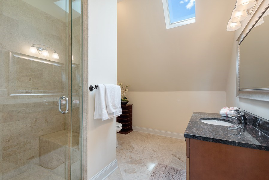 Real Estate Photography - 2632 Broadway, Evanston, IL, 60201 - 2nd Bathroom