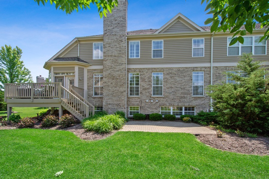Real Estate Photography - 713 Fieldstone Ct, Inverness, IL, 60010 - Rear View