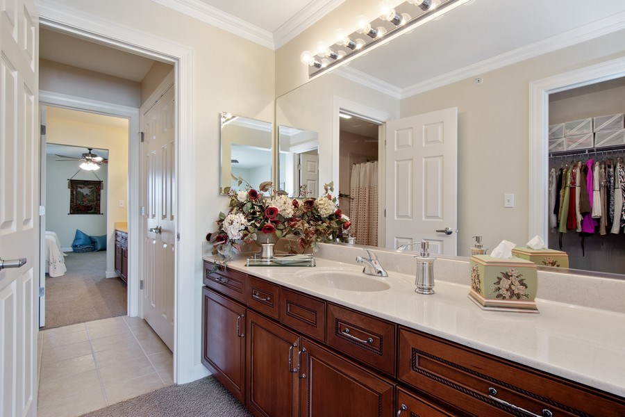 Real Estate Photography - 713 Fieldstone Ct, Inverness, IL, 60010 - 2nd Bathroom