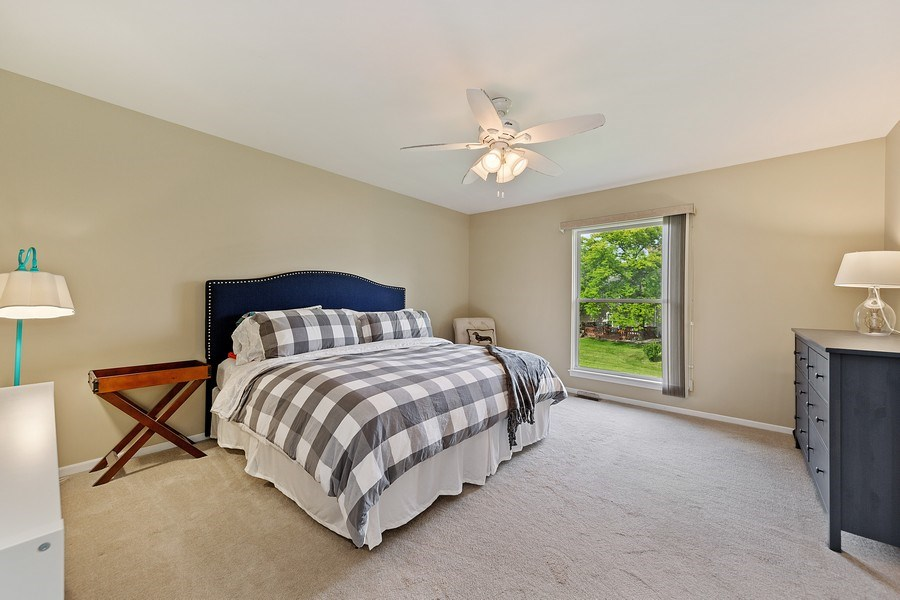 Real Estate Photography - 7341 Canterbury Pl 19-3, Downers Grove, IL, 60516 - Master Bedroom