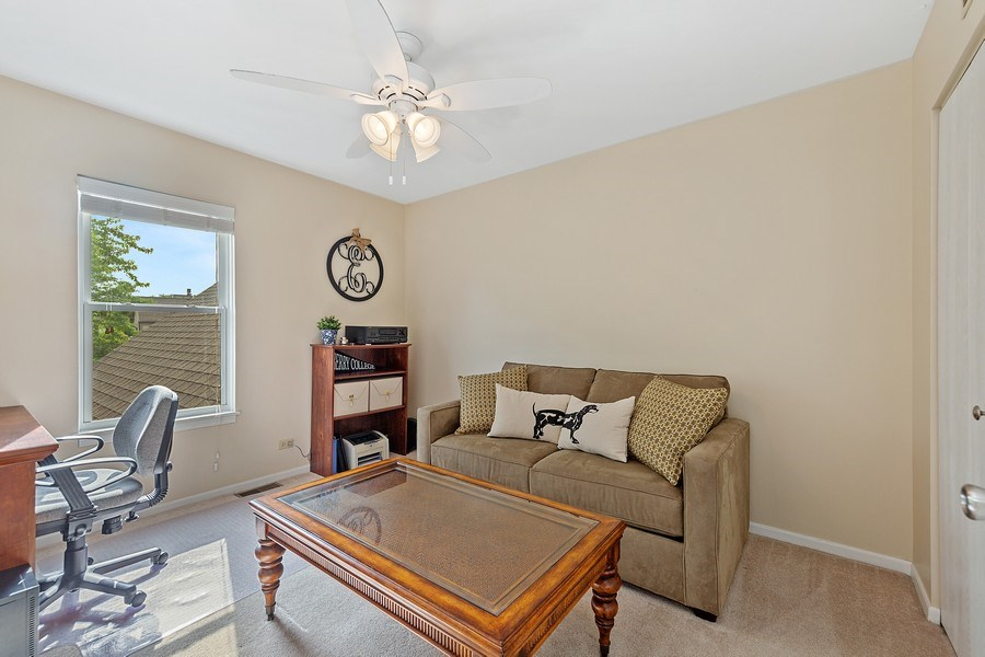Real Estate Photography - 7341 Canterbury Pl 19-3, Downers Grove, IL, 60516 - Bedroom