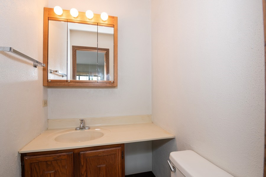 Real Estate Photography - 4440 Arbor Circle #4, Downers Grove, IL, 60515 - Master Bathroom