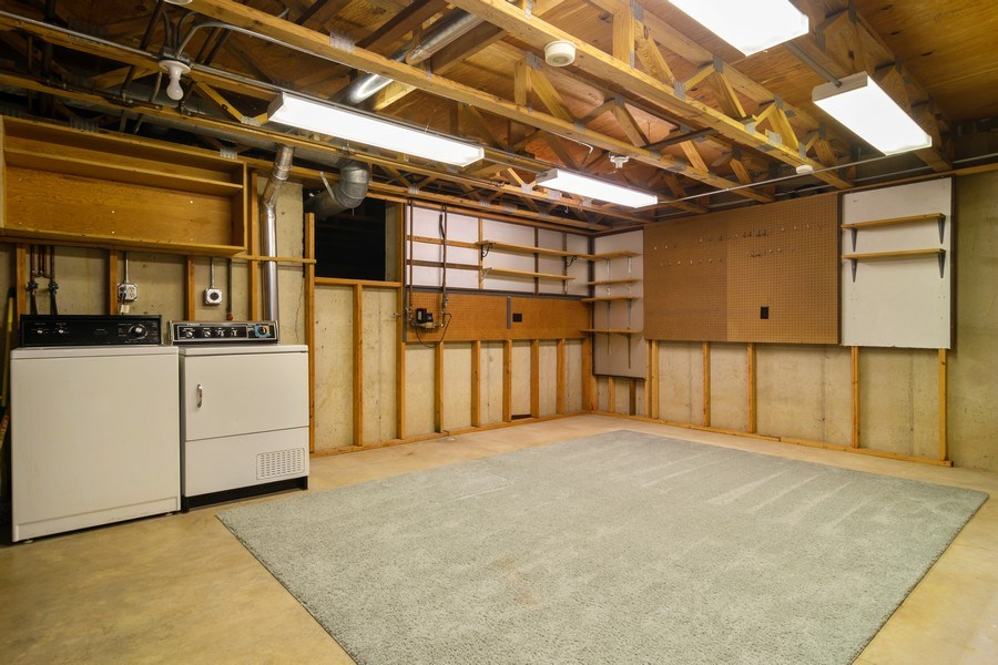 Real Estate Photography - 1330 Shagbark Ln, Wheaton, IL, 60187 - Basement