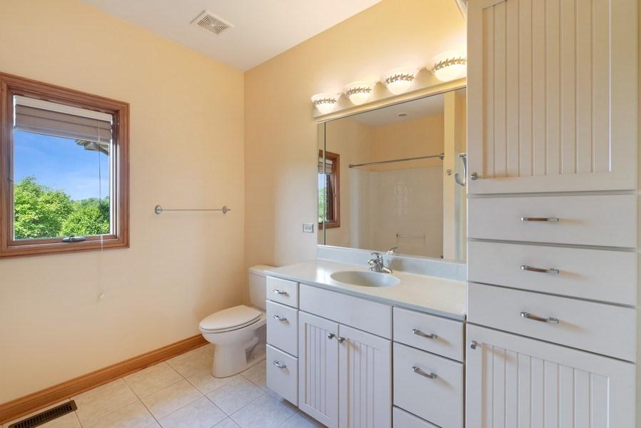 Real Estate Photography - 2029 W. Church Road, Beecher, IL, 60401 - 3rd Bathroom