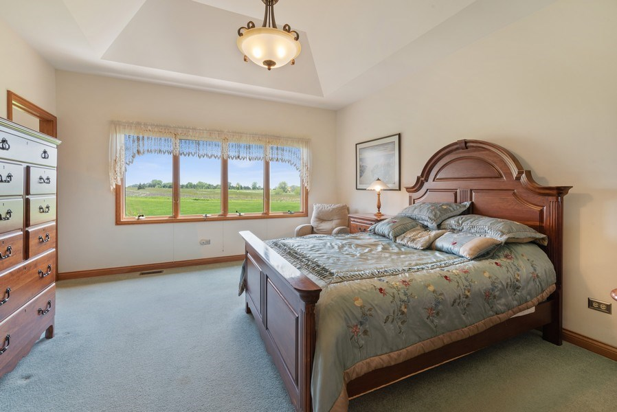 Real Estate Photography - 2029 W. Church Road, Beecher, IL, 60401 - 3rd Bedroom