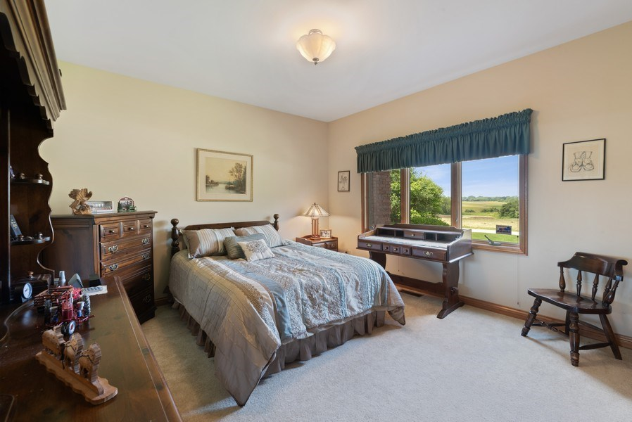 Real Estate Photography - 2029 W. Church Road, Beecher, IL, 60401 - Bedroom